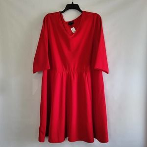 NWT Lane Bryant Red Dress Size 26/28